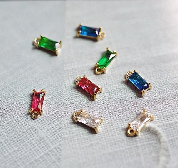 18K Gold-plating Moon Star bead pendant Bead DIY Necklace Design Bracelet Jewelry Accessories Supply