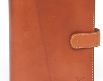 fb734a31f8b LOUIS VUITTON Leather NOMAD Agenda Day Planner Brown Cover mm