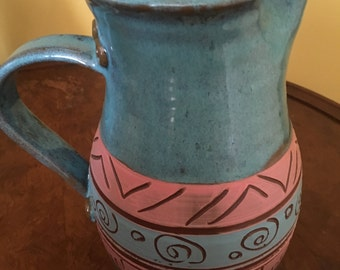AA Pottery - Vintage - 80's Collectible, Native Inspired, Chic, Organic Glam