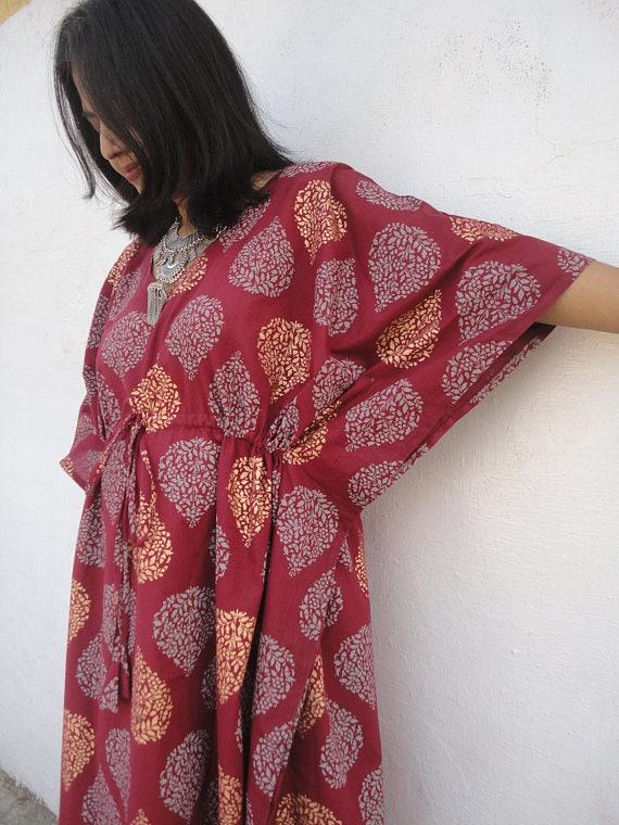 maternity Nightwear,Night gown housedress long kimono robe maternity robe womens dress wrap cotton gown cotton robe floral kimono robe