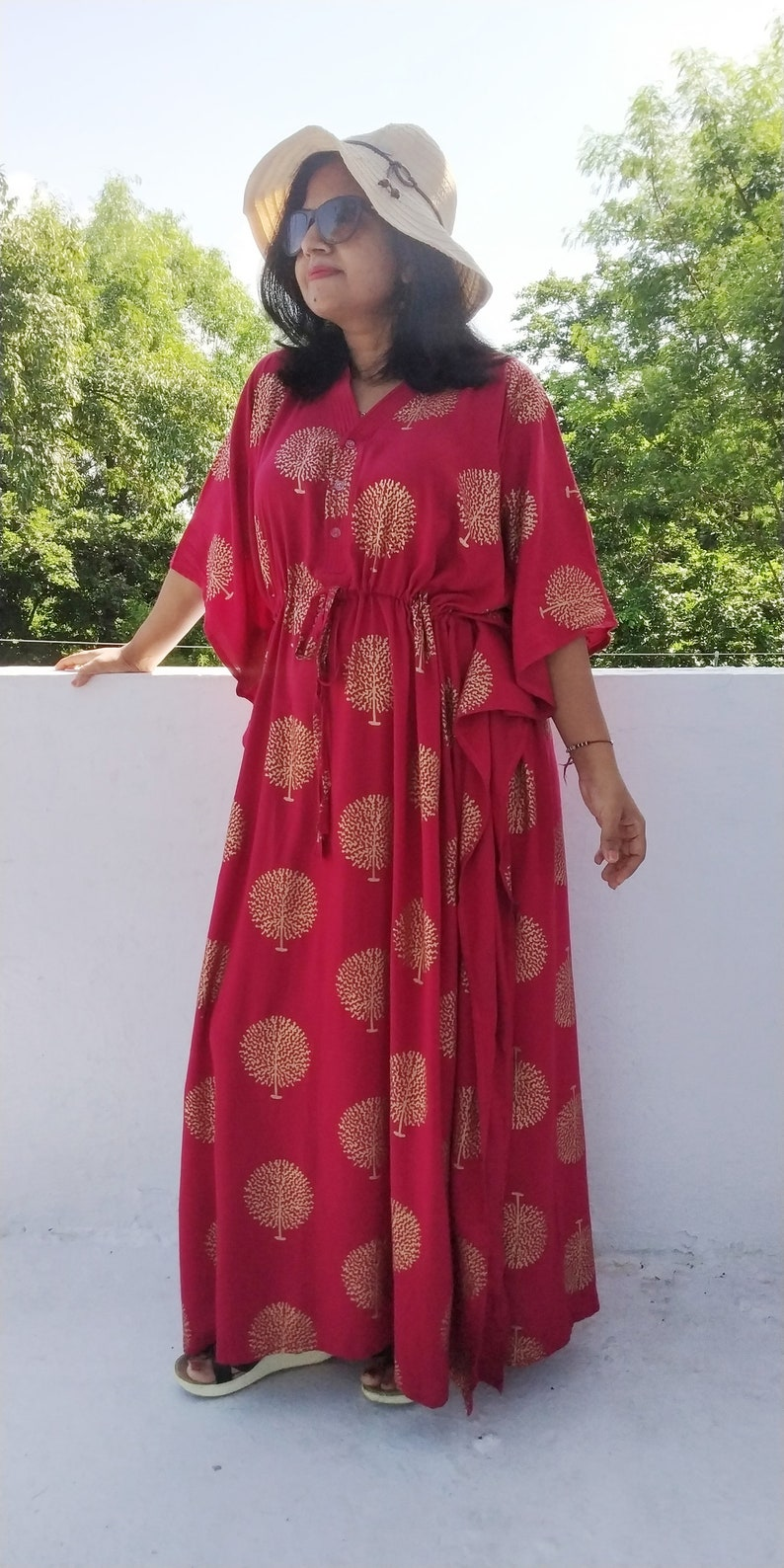 Red Christmas Dresses Plus Size