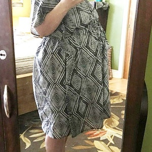 Maternity Hospital Gown Labor And Delivery Gownmatching Mom Etsy