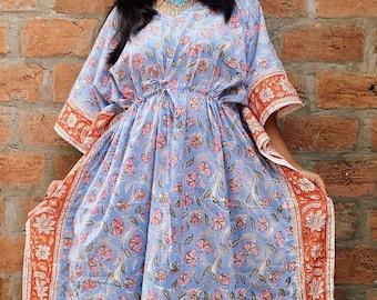 Caftan dress, Plus size caftan, Kaftan dress, Kimono, Cotton Caftan, Cotton Kaftan, Kaftan maxi dress, Long Caftan, Maxi dress, Cape dress