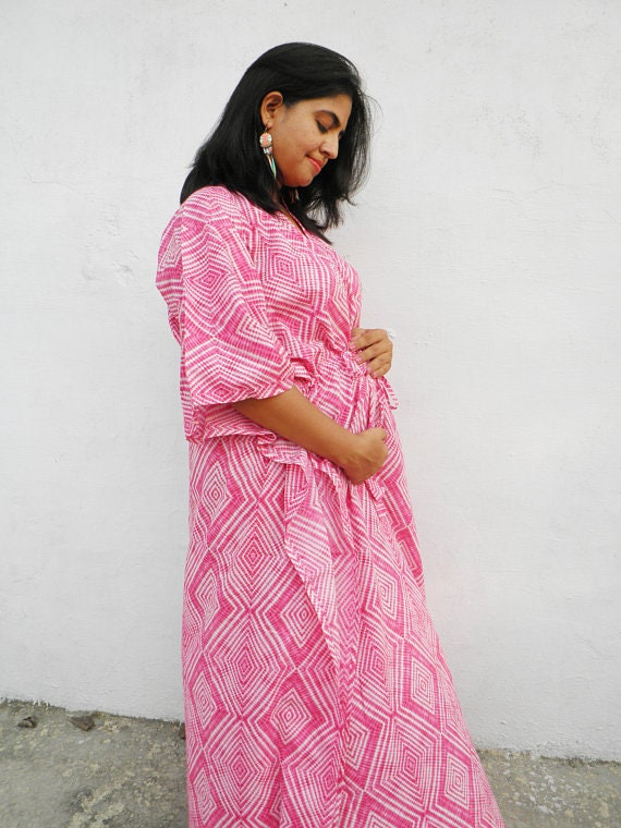 Maternity hospital gown maternity gown birthing labor gown   Etsy