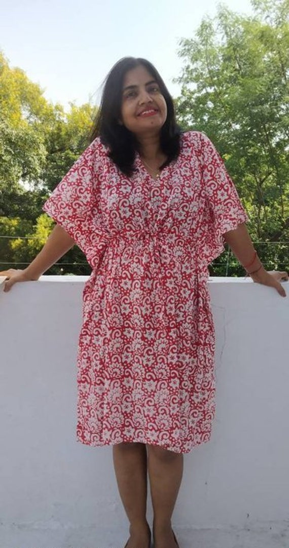 29dbae73014 Short kaftan Cotton Caftan Kaftan Maxi Dress Plus size