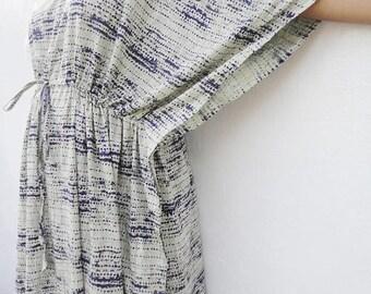 Kaftan, cotton dress, Indian dress, caftan dress, maxi, Beach cover up, bohemian dress, hippie dress, beige gown, swim cover up