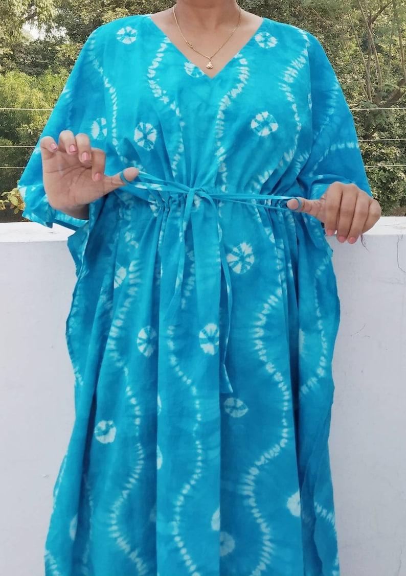 219b1f8b14 Tie dyed Kaftan Robe Caftan for womens Plus size kaftan Plus | Etsy