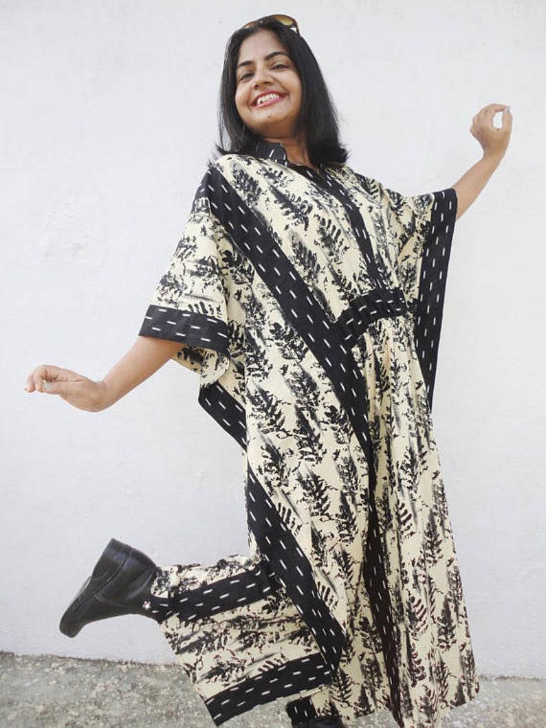 Plus size caftan Caftan dress Long Caftan Cotton Caftan Cape dress Kaftan dress Cotton Kaftan Kimono Kaftan maxi dress Maxi dress