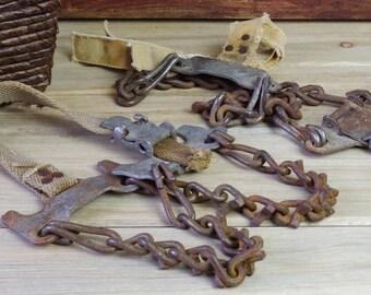 Equestrian Hardware, Cowboy Decor, Western, Bridle Bit, Horse Tack, Horse, Cabin Door, Americana, Western Cowboy, Vintage Horse Bit #17-50