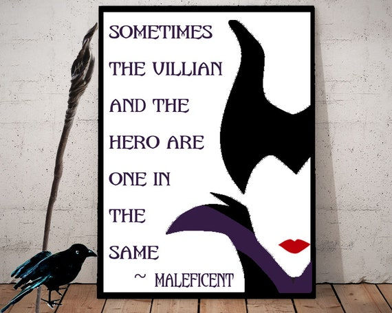 Maleficent Inspired Quote Download 2 Files Editable And Transparent Background