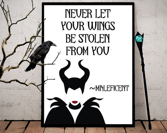 Maleficent Inspired Quote Download