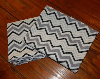 Set of 2 - 18 x 22 Chevron Pillow Covers