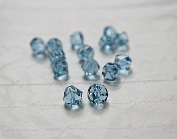 1xSwarovski ® 5603 10mm Graphic Cubic AB Crystal Bead Swarovski Crystal & Cut Glass Craft Beads Crystal & Cut Glass Craft Beads