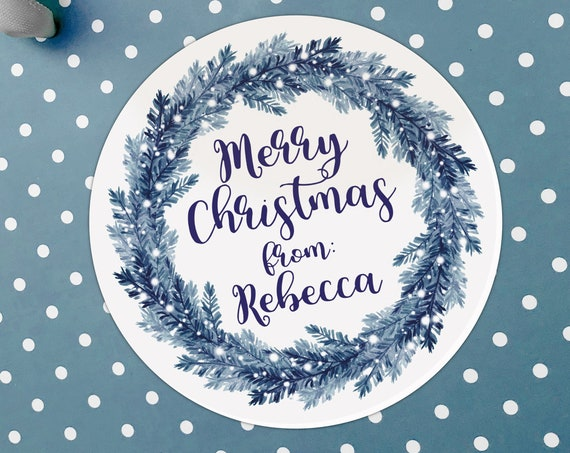 Personalised gift tags, Merry Christmas stickers, Personalized Christmas stickers, Christmas gift stickers, Xmas stickers, Xmas labels