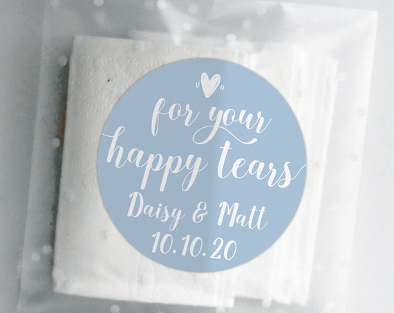 For your happy tears stickers, Custom stickers by Blooms