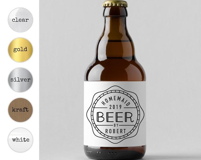Beer bottle labels wedding thank you stickers personalized beer labels, Beer bottle label, Personal beer label, Teacher beer label