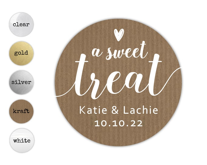 Custom wedding thank you gift tags labels stickers, Personalized thank you sticker, Round cakes stickers, Macaron cupcake sticker