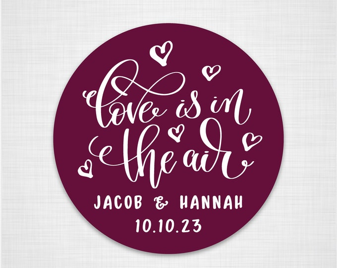 Personalised wedding favor sticker seals custom favor stickers, Invitation seals, Wedding name stickers, Wedding invitation stickers - RW30