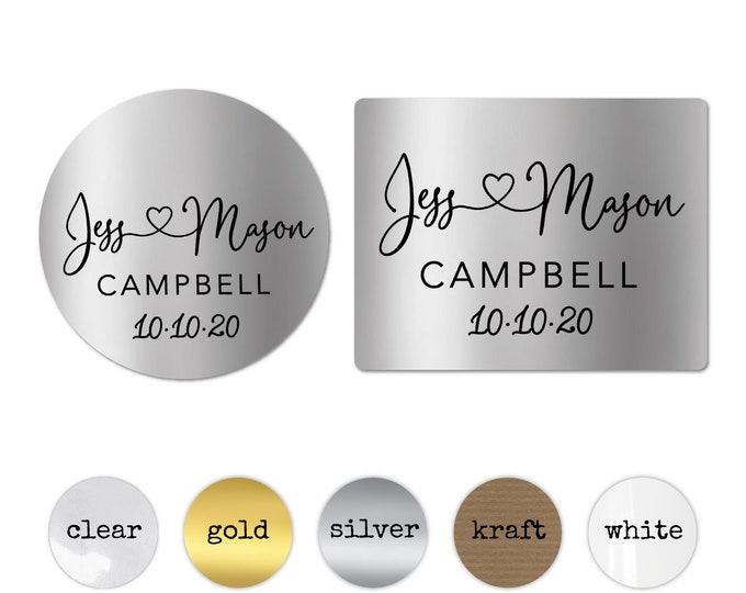 Wedding stickers for envelopes seals for invitations, Envelope seals wedding seal, Wedding favor labels, Invitation round gold stickers