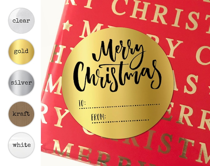 Merry Christmas Envelope Name Stickers Decorative Tags Christmas Stickers Wrapping Ideas Name Tag Waterbottles Envelope Name Stickers Favors