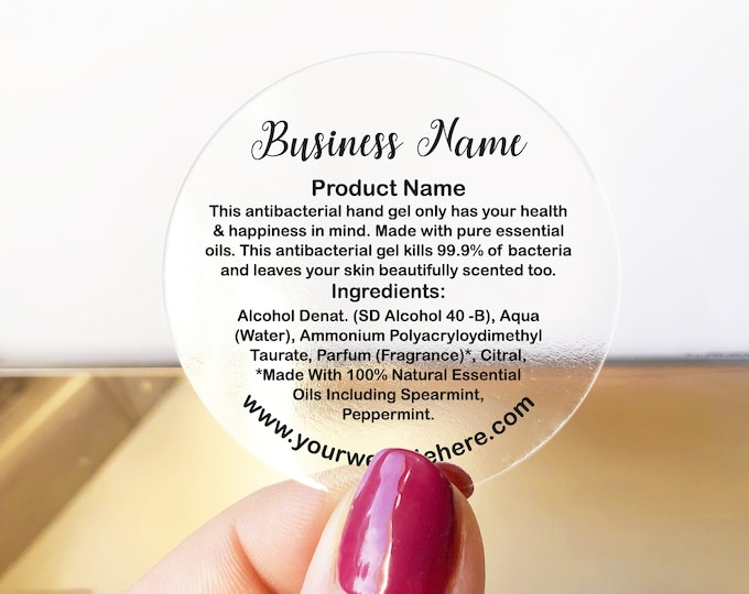 Custom stickers decal name sticker labels sheet, Round packaging stickers labels, Custom text stickers, Your text here stickers - BS20