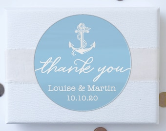 Wedding thank you stickers personalised labels, Wedding labels for favors, Custom stickers round labels, Custom wedding label for favors