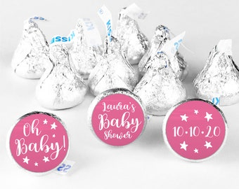 Hershey kiss stickers for baby shower favors hershey kiss labels, Shower hershey kisses, Custom stickers candy stickers, Baby shower labels