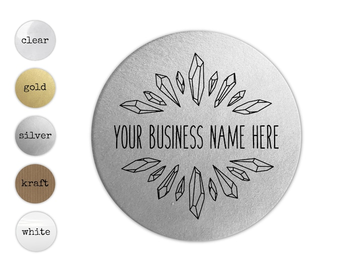 Custom Product Label Stickers, Personalized Business Labels, Logo Sticker Sheet, Round Packaging Decals, Circle Jar Labels, Business Supply