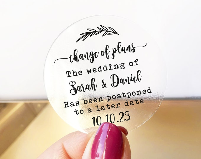 Custom wedding save the dates name stickers, Save the date stickers, Personalised wedding announcement, Unique save the date ideas