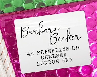 Return address labels, Personalized stickers, Bridal shower gift, Custom stickers, Personalized sticker labels, Personalised, Custom labels