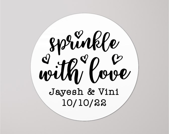 Wedding confetti stickers for confetti bags wedding favor tags, Wedding stickers for favors, Wedding favor sticker labels, Toss me stickers
