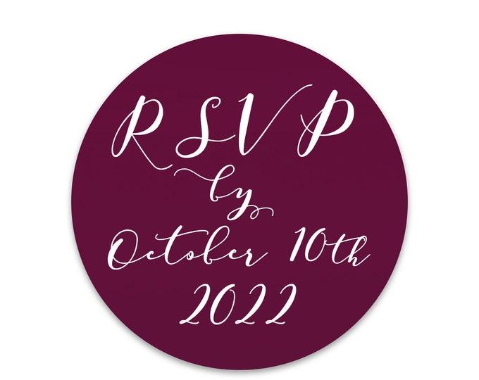 RSVP wedding stickers personalised wedding sticker envelope seals, Custom wedding seal, Wedding date sticker, RSVP wedding labels