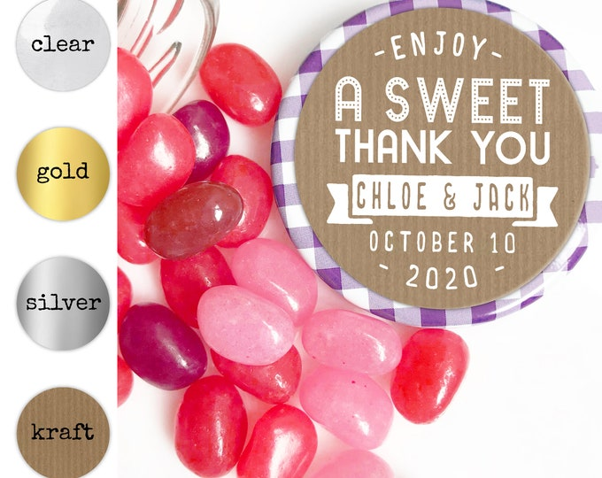 Wedding thank you stickers labels welcome bag sticker, Thank you favor stickers, Thank you labels, Custom stickers