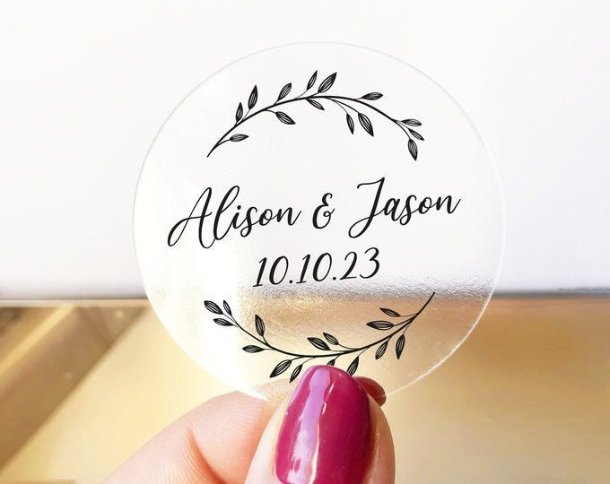 Wedding stickers for envelopes seals for invitations, Envelope seals wedding seal, Wedding favor labels, Invitation round gold stickers RW40