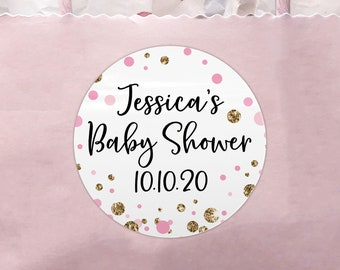 Personalised hen party sticker labels, Hen do accessories, Floral hen do stickers for bags, Hen party stickers round stickers