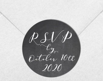 RSVP wedding stickers personalised wedding sticker envelope seals, Custom wedding seal, Wedding date sticker, RSVP wedding labels
