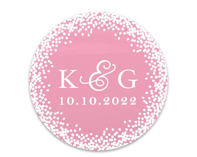 Custom monogram wedding envelope initial seals stickers labels, Custom sticker labels, Wedding invitation seal