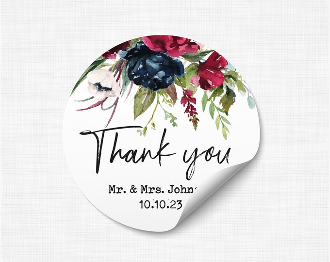 Wedding favours stickers stickers and labels, We tied the knot stickers, Wedding take a shot stickers, Rustic Favor Sticker - WC06