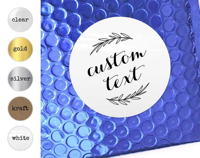 Round Custom Product Labels, Logo Packaging Sticker Sheet, Personalized Package Supplies, Product Envelope Seals, Favor Bag Stickers