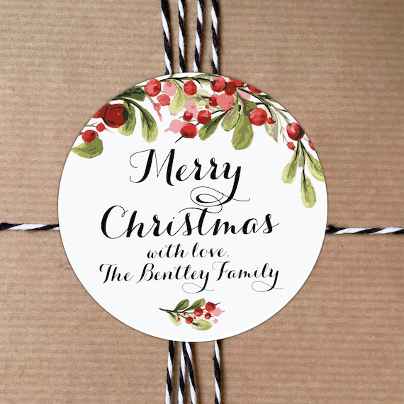 Custom stickers labels, Personalized tags, Christmas gift tags, Personalised xmas tags, Christmas gift stickers, Decorative stickers