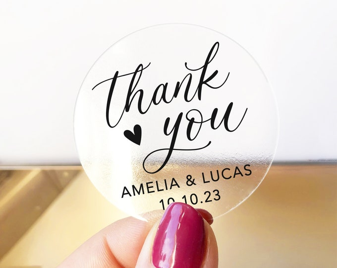 Custom wedding birthday thank you stickers tags, Personalized party favor stickers, Graduation thank you labels, Baby shower stickers