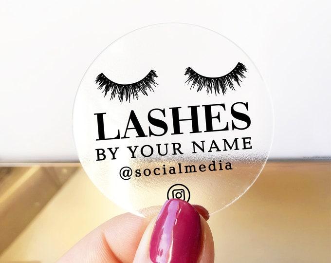 Custom eyelash business logo labels design lash packaging logo lash extensions elegant logo, Makeup artist logo
