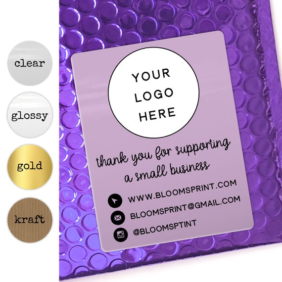 Business stickers personalised custom stickers logo, Packaging stickers for business logo labels, Round logo labels, Company logo stickers