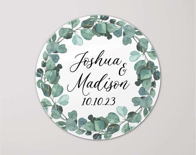 Personalised labels for wedding invitation, Personalized stickers wedding, Wedding favor stickers, Welcome stickers wedding bag