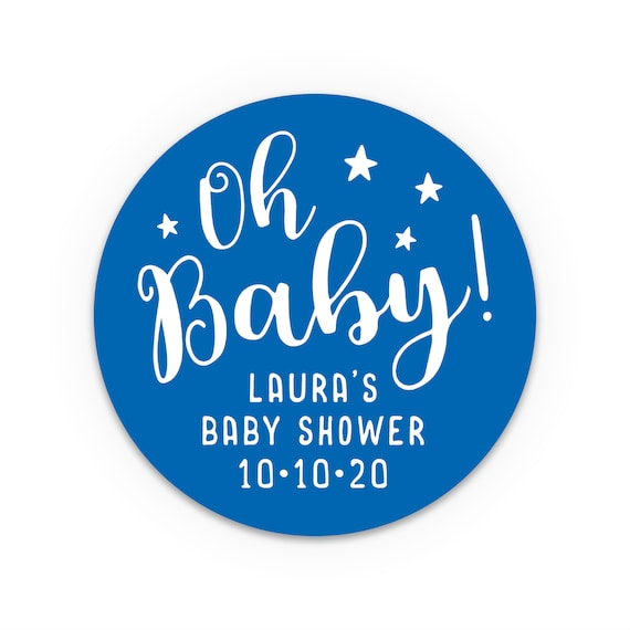Baby shower stickers, Baby shower labels, Favor stickers, Baby shower label, Customised stickers, Favor bag stickers, Boy baby shower