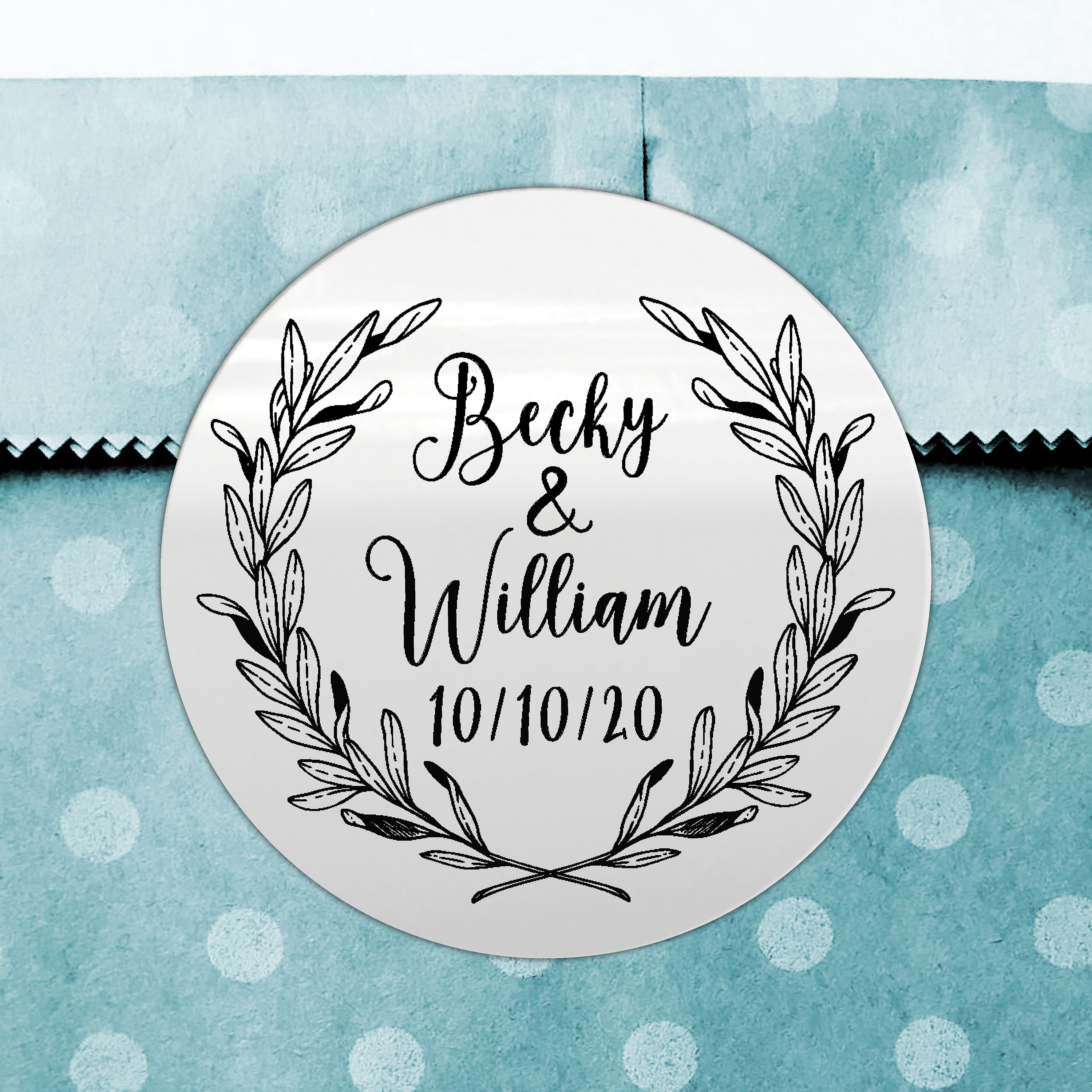 Wedding thank you stickers personalised labels custom stickers round labels thank you wedding labels welcome sticker for wedding bag
