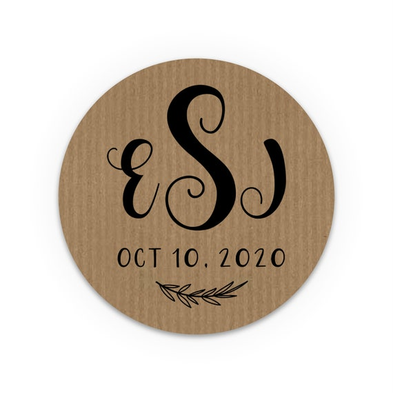 Monogram sticker labels, Envelope seal stickers, Custom stickers, Wedding favors for guests, Envelope seal stickers, Save the Date Stickers