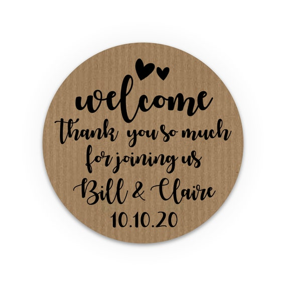 Custom wedding favor sticker, Wedding confetti stickers, Fall wedding favors for guests, Country wedding favors, Engagement party favors