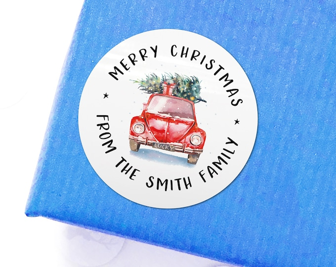 Envelope Stickers Personalized Stickers Name Sticker Labels for Gift Bags Merry Christmas Name Tags Envelope Name Stickers Xmas Stickers