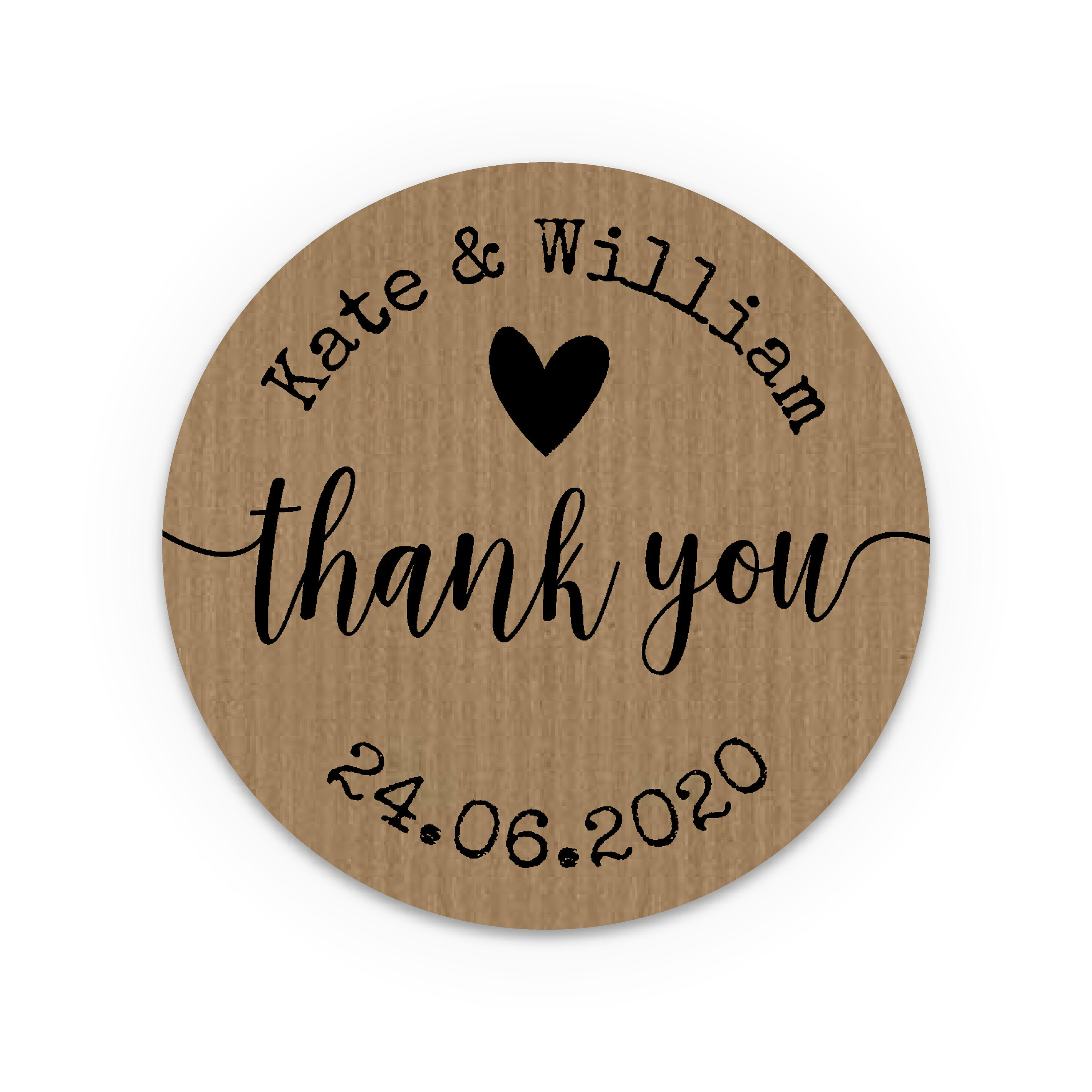 Rustic Wedding Favors For Guests Customized Wedding Stickers